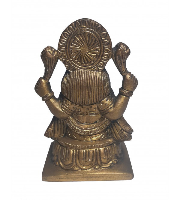 Laxmi Handcrafted In Brass