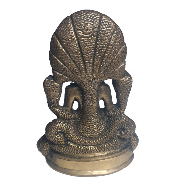 God Figure Handcrafted In Brass