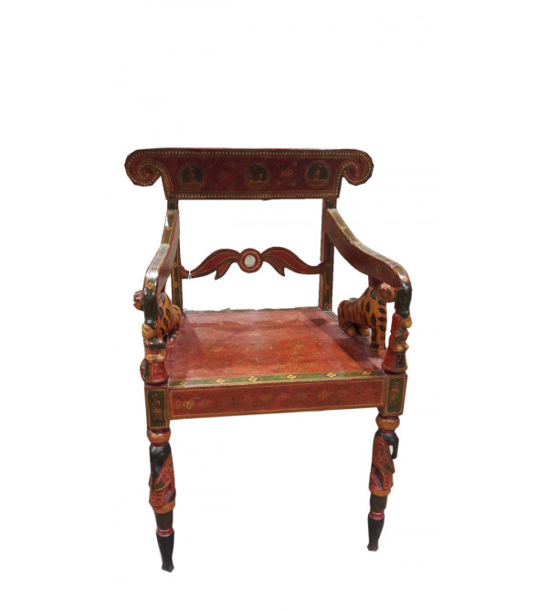 Chair Handcrafted In Wood