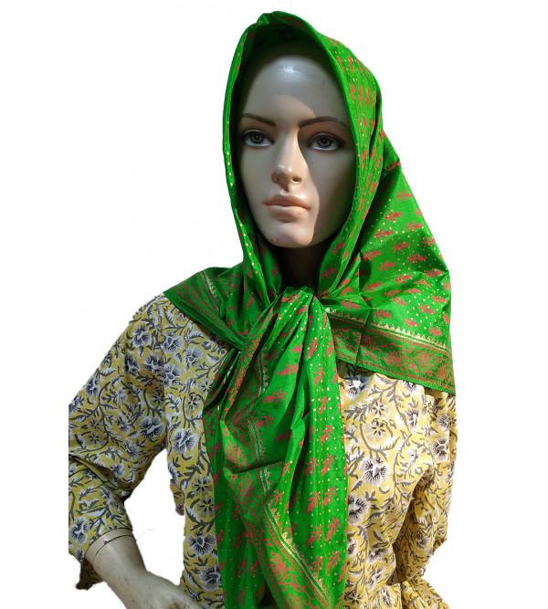 CCIC Silk Printed Scarf Size 44x44 Inch