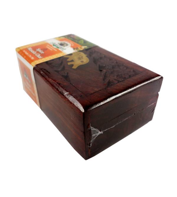 SPICE MASALA CHAI 50 GMS WOODEN BOX
