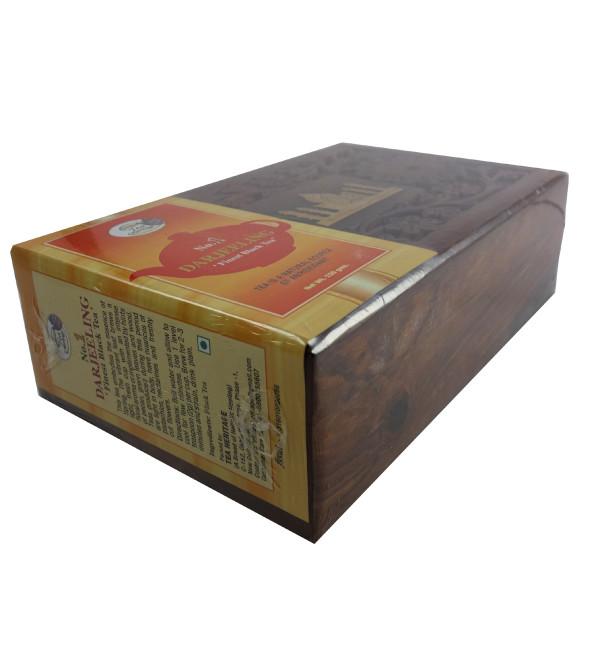 DARJEELING FINE BLACK TEA 150 GM WOODEN BOX