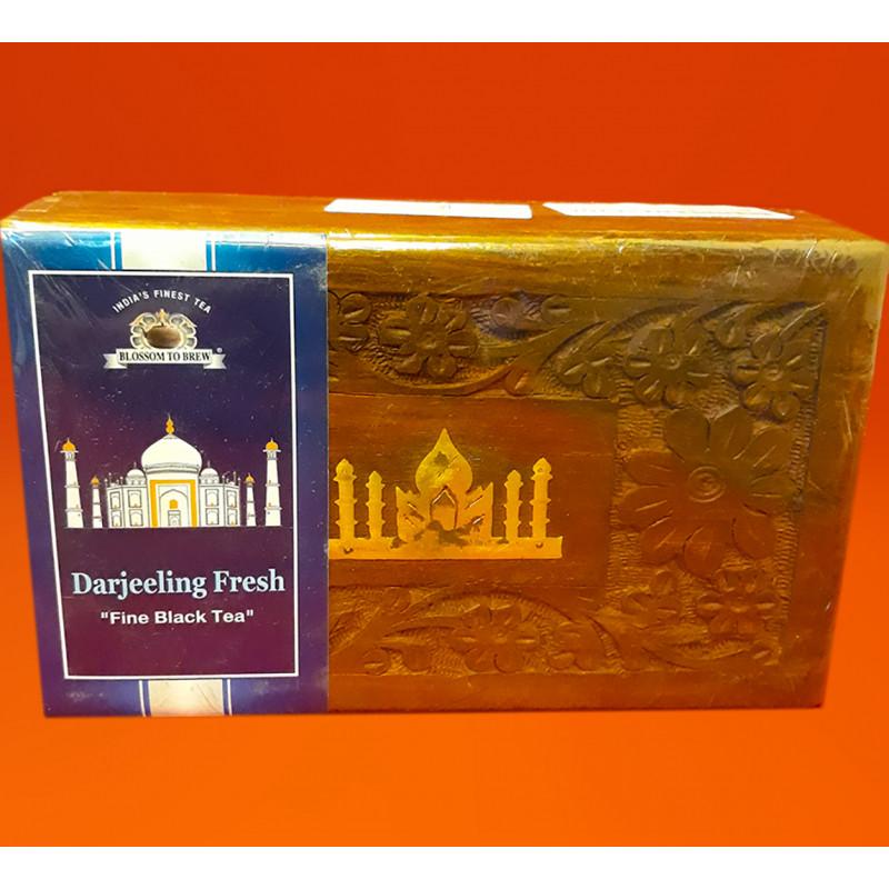 Darjeeling Tea In Wooden Box 150gm