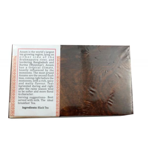 English Breakfast 50 Gm Wooden Box