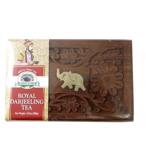 Royal Darjeeling Tea 100 GM Wooden Box