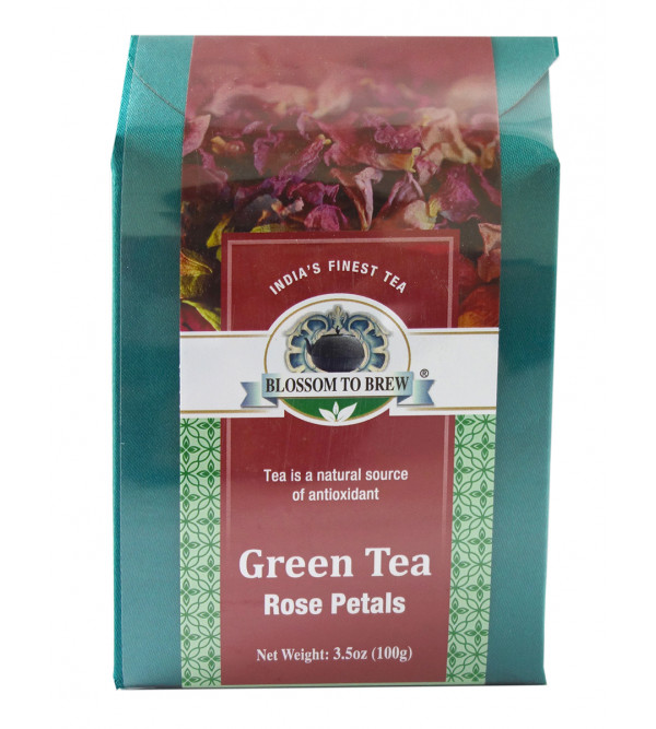 Green Tea Rose Petals 100gm
