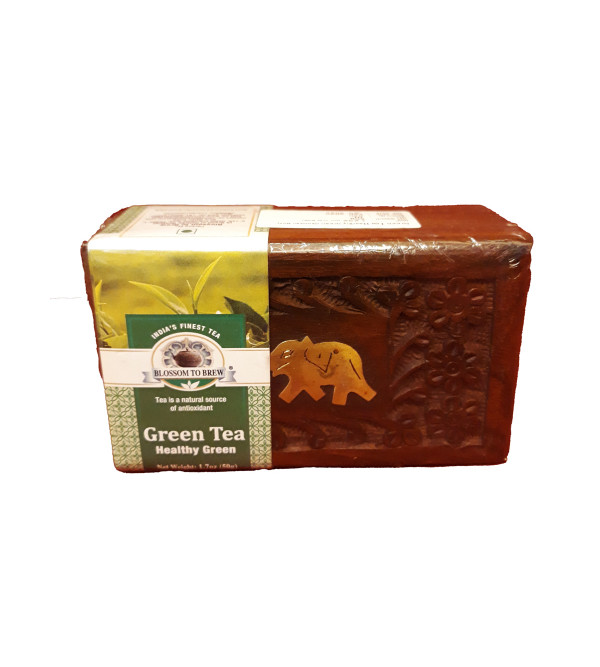 HEALTHY GREEN TEA 50 GM WBOX