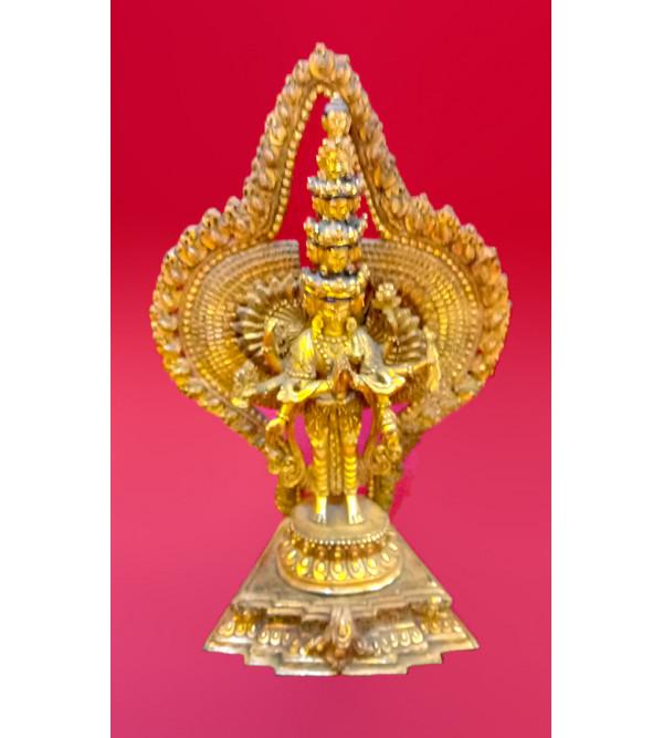 BUDDHA BASELESS gold work