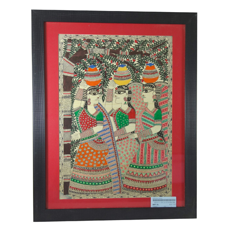 Handicraft Madhubani painting