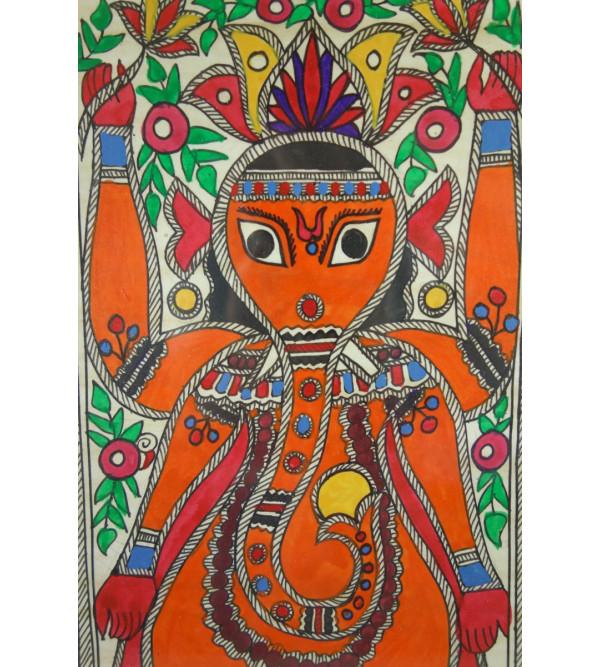 Handicraft Madhubani painting