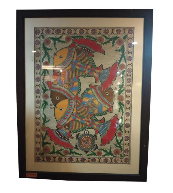 Madhubani painting  size 28x36inch