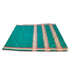SAREE  MAHESHWARI PLAIN WITH ZARI BORDER WITH BLOUSE