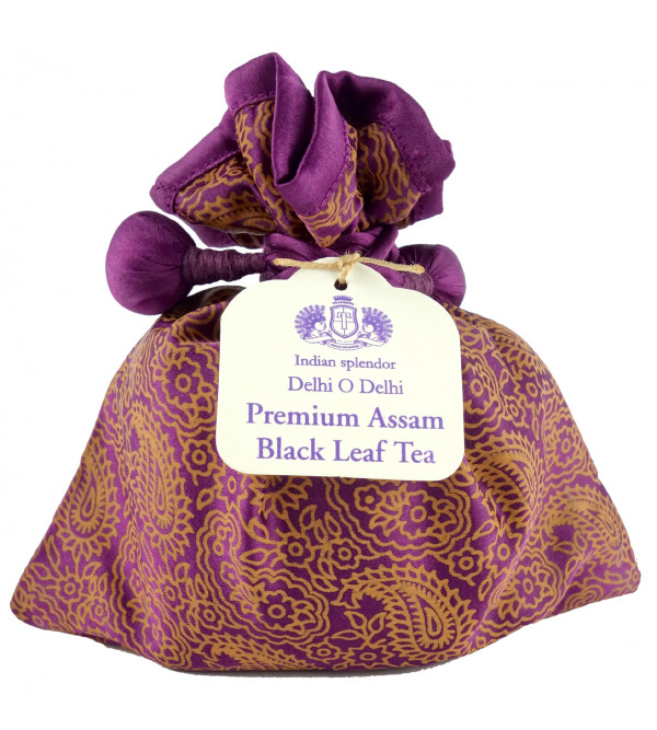 DELHI O DELHI PREMIUM ASSAM BLACK LEAF TEA 125 GM ASSORTED POTLI