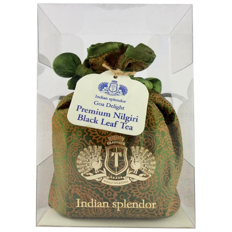 GOA DAYLIGHT PREMIUM NILGIRI BLACK LEAF TEA 125 GM ASSORTED POTLI