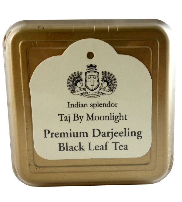 PREMIUM DARJEELING BLACK LEAF TEA 125 GM ASSORTED METAL CADDY