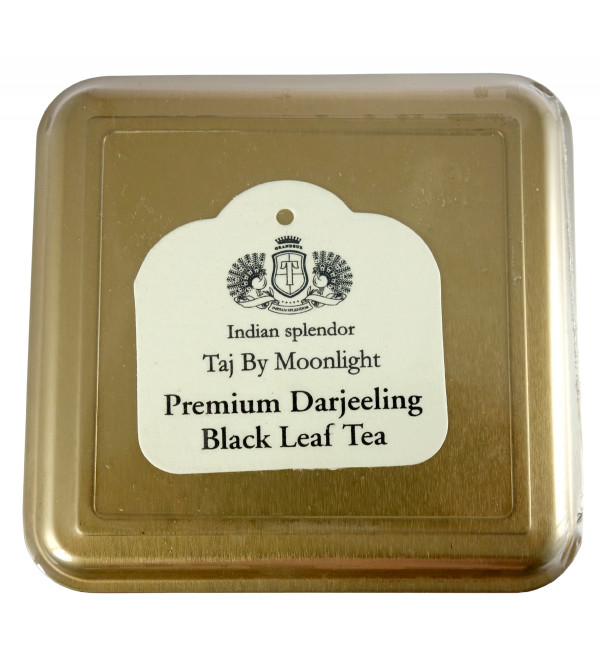 MOONLIGHT PREMIUM DARJEELING BLACK LEAF TEA 250 GM ASSORTED METAL CADDY