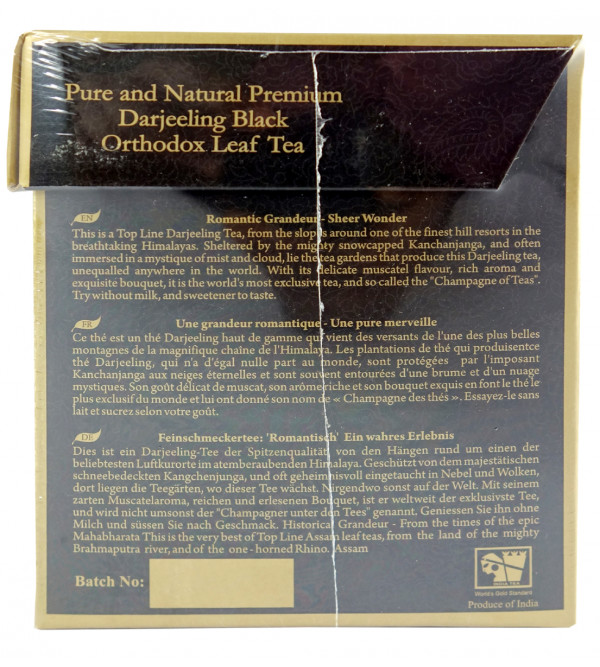 MOONLIGHT PREMIUM DARJEELING BLACK LEAF 20 TEA BAG ASSORTED BOXES