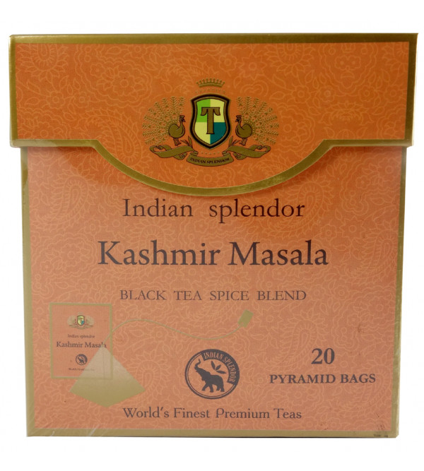 KASHMIR MASALA 20 TEA BAG ASSORTED BOXES