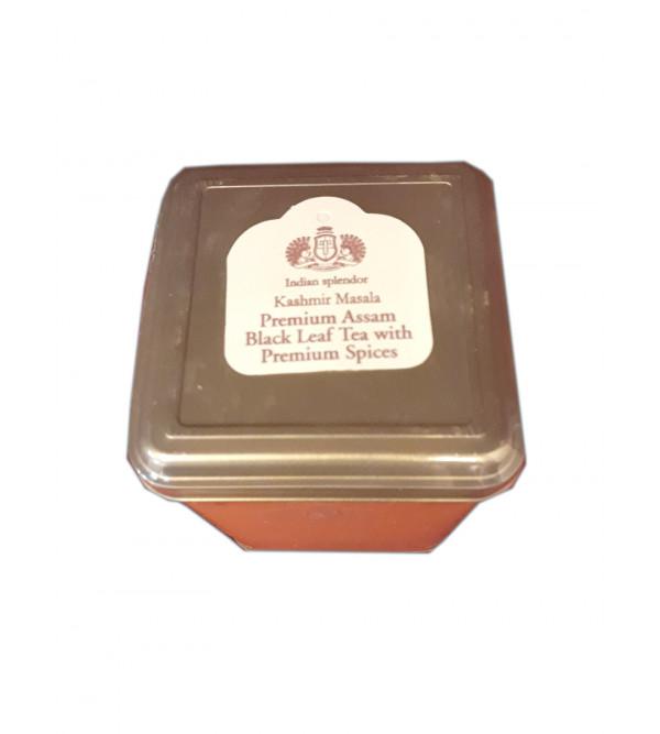 Kashmir Masala -Premium Assam Black Masala Chai with Premium Spices In Metal Caddy 250gm