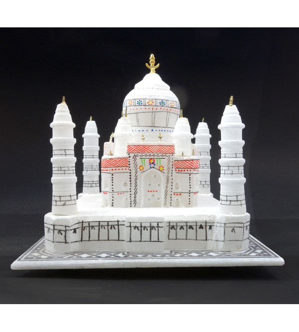HANDICRAFT MARBLE TAJ MAHAL 6 inch   ASSORTED