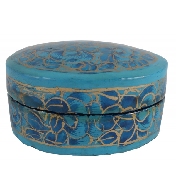 PAPER MACHE RING BOX 2 INCH  ASSORTED SHAPE AND COLOR