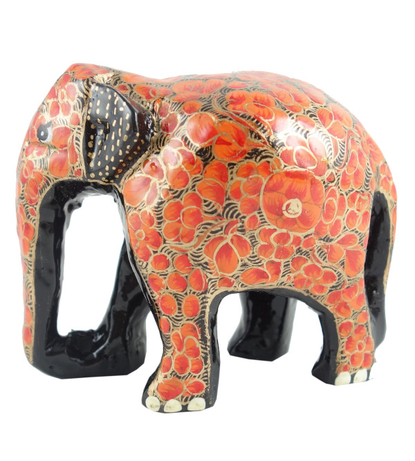 PAPER MACHE ELEPHANT 3 INCH ASSORTED COLOR