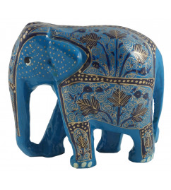 ELEPHANT 4 INCH PAPER MACHE ASSORTED COLOR