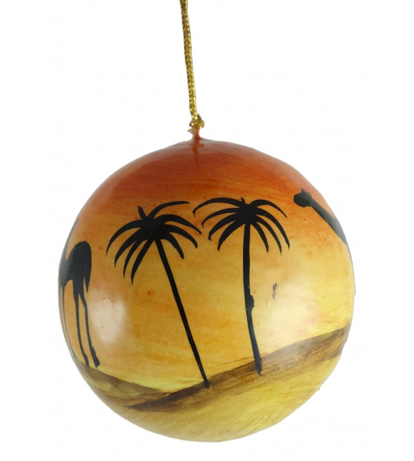 BALL HANGING 3 INCH ASSORTED COLOR AND DESIGN