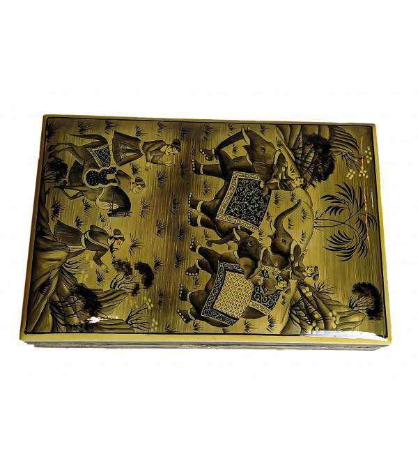 FLAT BOX 9X6 MUGHAL DESIGN