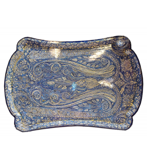 Papier Mache Handcrafted Large Tray