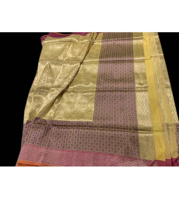 Banaras silk zariHANDLOOM SAREE with Blouse