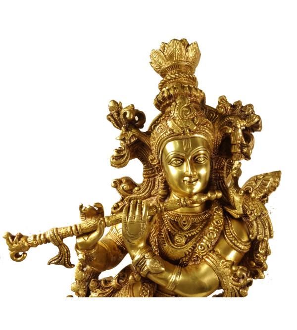 Handicraft Brass Krishna 20 Inch