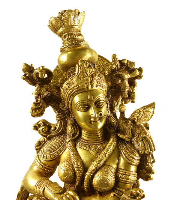 Handicraft Brass Radha 28 Inch