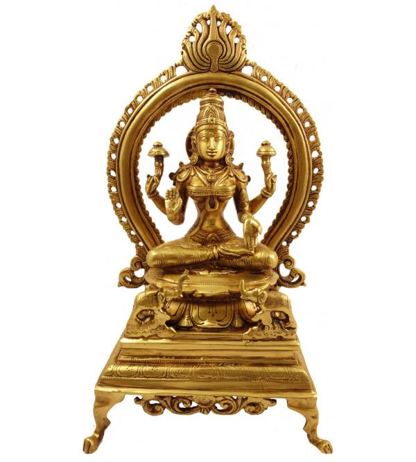 Handicraft Brass Laxmi Prabhawal 12.5 Inch