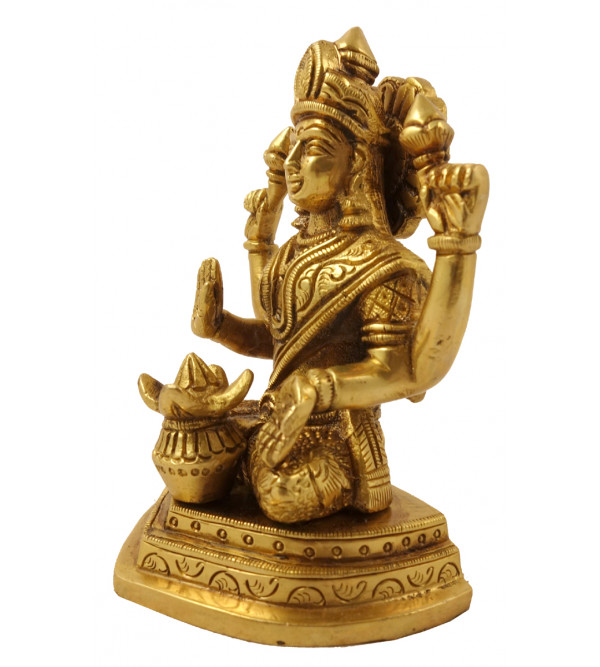 Handicraft Brasws Laxmi 5 Inch
