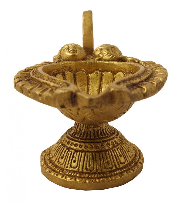 Handicraft Brass Deeva 4 Inch