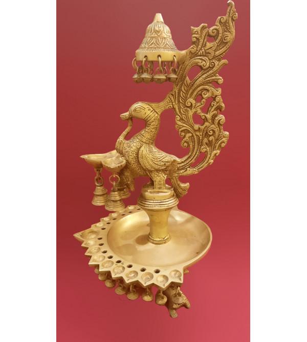 brass oil lamp 16inch
