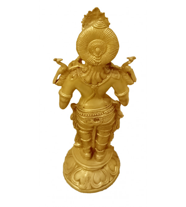 Deep Laxmi Handcrafted In Brass Size 29 Inches
