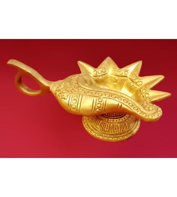 Deeva Handcrafted In Brass