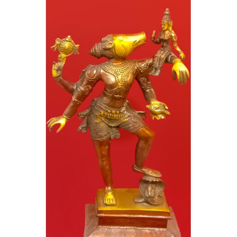 Brass Handcrafted  Varah Laxmi 16 inch
