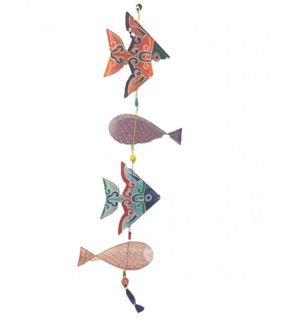 Handcrafted Fabric Kite Hanging  Size 57 Inch
