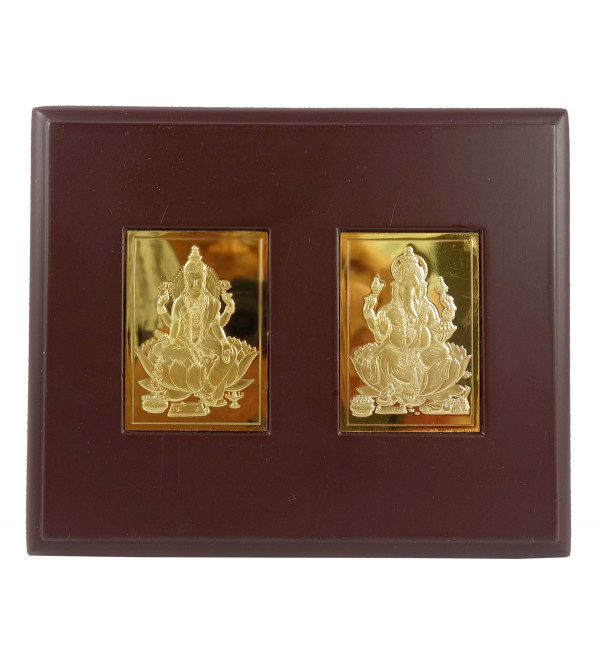 HANDICRAFT MEMENTO GOLD PLATED LAXMI GANESH