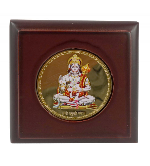 HANDICRAFT MEMENTO GOLD PLATED HANUMAN