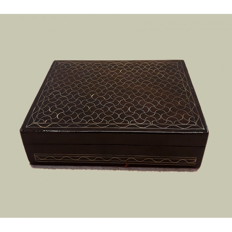 WOODEN BOX WINE INLAY 5 X 4