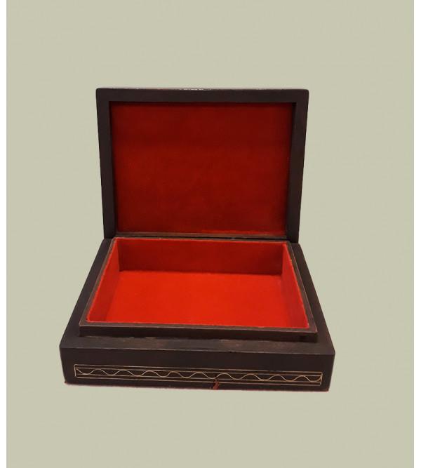 WOODEN BOX WINE INLAY 5 X 4