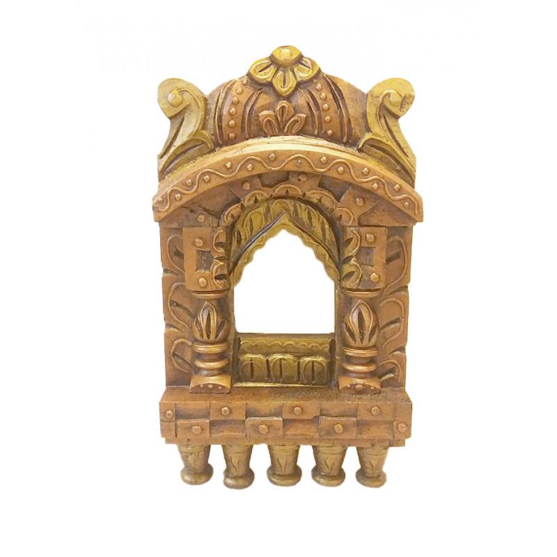 Kadamba wood Handcrafted and Hand painted Jharokha