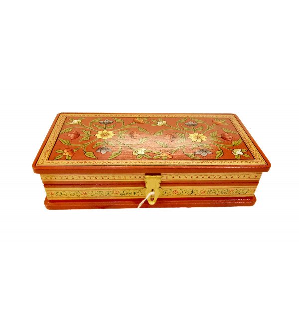 Wooden Handcrafted Box Size 8X4 Inches