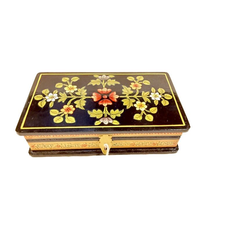 WOODEN BOX 7 x4 inch ass design