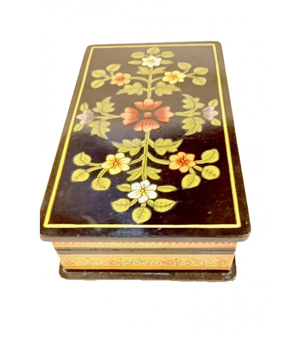 Wooden Hand Painted Box Size 7X4 Inches