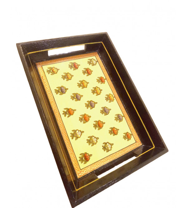 Tea Tray Handcrafted In Wood